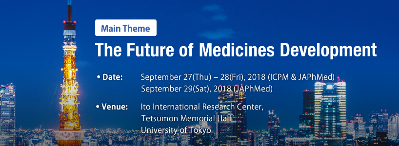 Main Theme The Future of Medicines Development